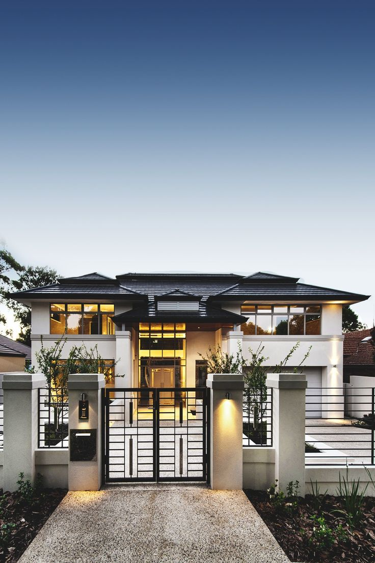 Villen schöner wohnen moderne häuser zeitgemäßes wohnen traumhäuser außen haus perth exterieur design ihr schönes zuhause