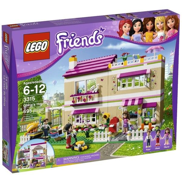 Amazon.com LEGO Friends Olivia's House 3315 (1,405 MXN) ❤ liked on Polyvore featuring toys