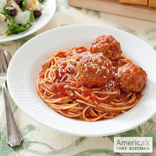 Spaghetti and Meatballs, featured in the Little Italy Pasta Supper Menu. From: Menu Cookbook. http://amzn.to/pWzw7y150 Meatballs, Pasta Dishes, Pasta Suppers, Menu Cookbooks, Italian Recipe, Italy Pasta, Pasta Recipe, Meat Dishes, Momma Italian
