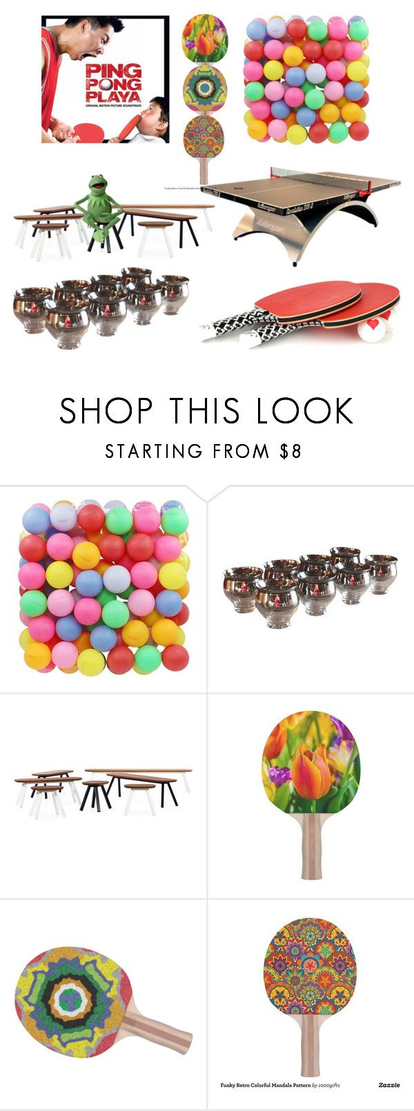 """""""Ping Pong Family"""" by didesi ❤ liked on Polyvore featuring Diane Von Furstenberg, Dorothy Thorpe and RS Barcelona"""