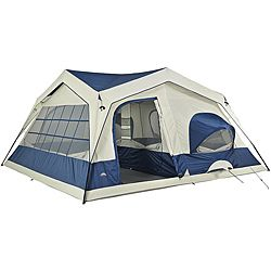 If I went camping I would need a tent this big...