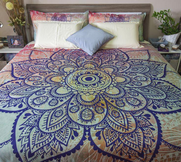 Take a look at my beautiful Mehendy henna art flower mandala in indigo blue for…