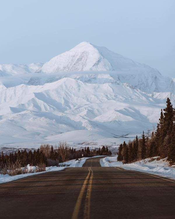Mount Denali Alaska In 2020 Alaska Denali Alaska Alaska Winter