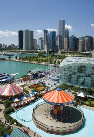 I've been to Chicago but we didn't go to the Navy Pier... I would like to go there someday.