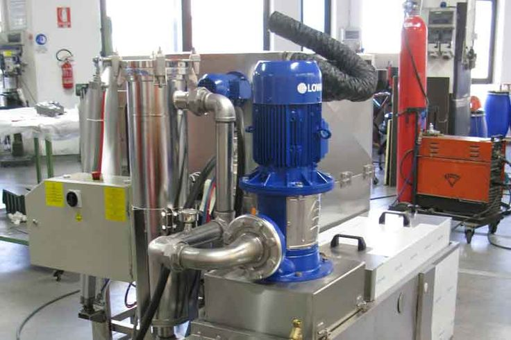 High Pressure - Special high pressure pump up to 10 bar and over as needed.