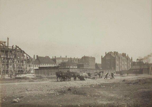 Vester Voldgade 1891. Foto J.F. Meyer