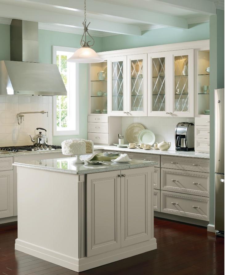 Martha stewart at home depot beautiful kitchen kitchen for Beautiful kitchen paint colors