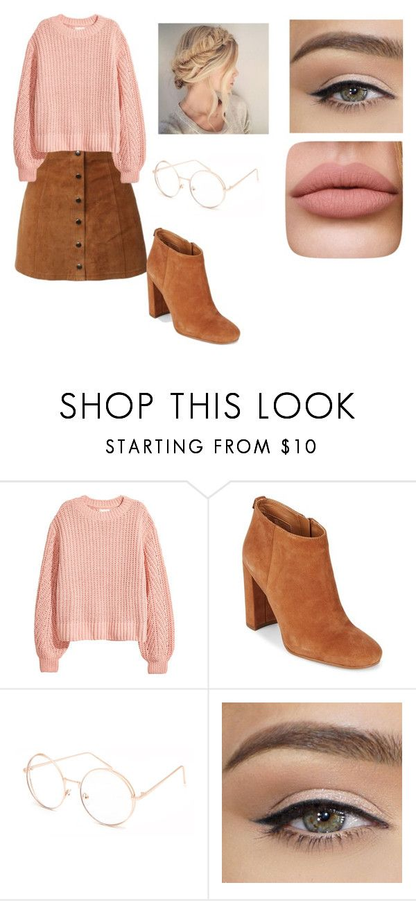 """Strawberry and Chocolate"" by theteawithhoney on Polyvore featuring Sam Edelman and Full Tilt"