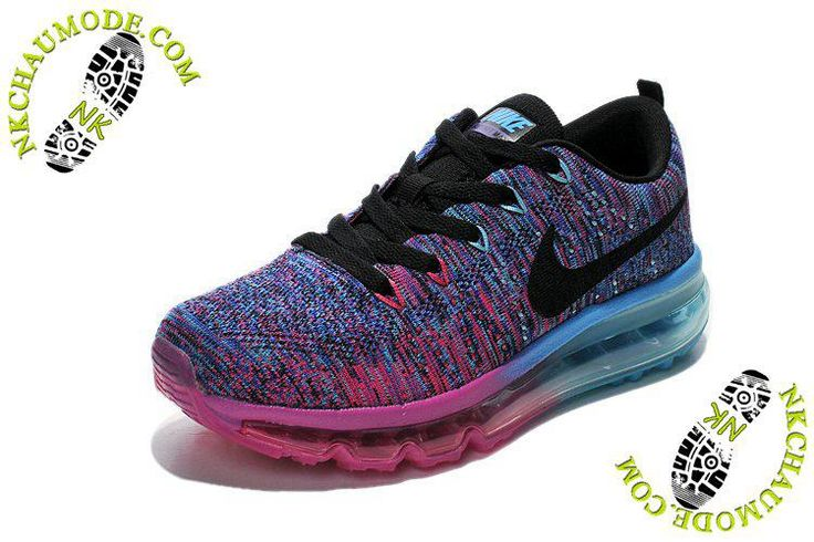 hot sale online 6afea 8eeec ... hot chaussure running nike air max 2014 femme surface pourpre bleu rose  43a02 d489e