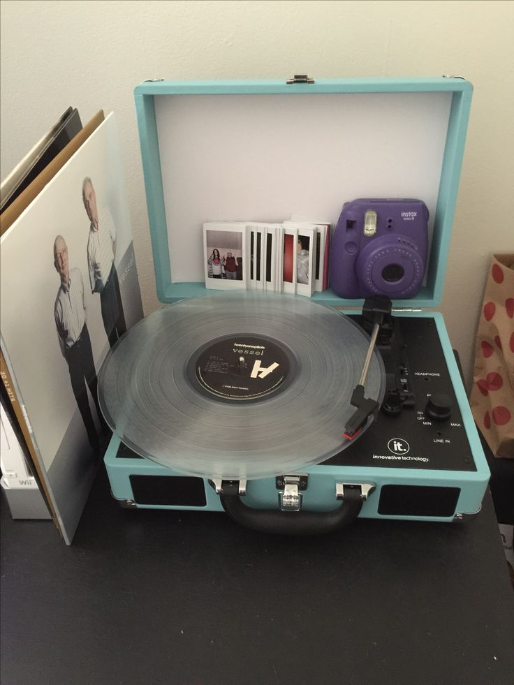 Vessel by Twenty One Pilots on the record player