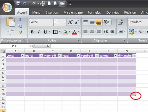 Mise en forme des tableaux Excel en un clic !