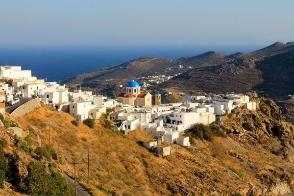 Landscape of Chora, Serifos