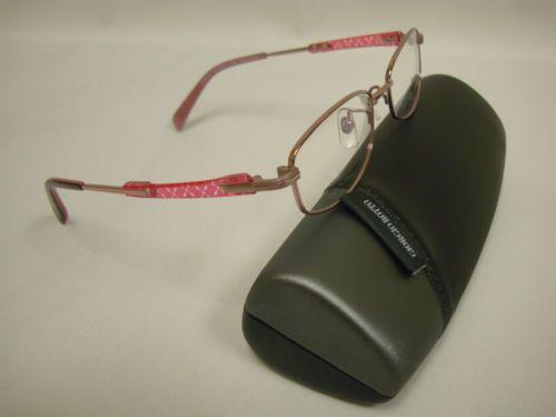 Giorgio Volando Ultra Lite Women's Titanium Eyeglass Frame GV6161-50 Pink, cute, lite & durable