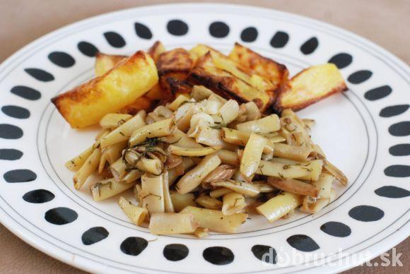 Fotorecept: Restovaná fazuľka s kôprom a cesnakom
