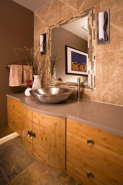 Une décoration éclectique pour votre salle de bain | BricoBistro