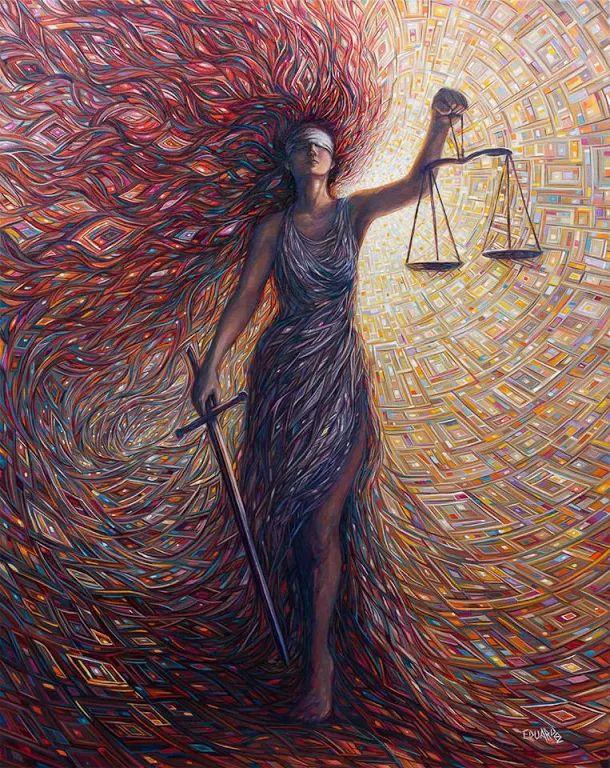 L'ingiustizia in qualsiasi luogo è una minaccia alla giustizia dovunque. (Martin Luther King) Eduardo Rodriguez Calzado,  Fine Art Painter.