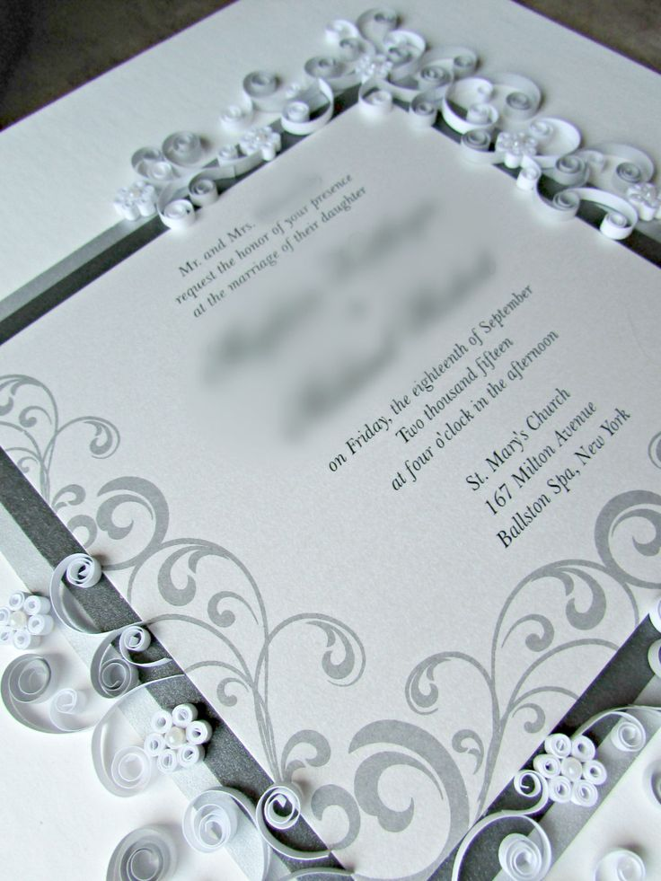 53 best Custom Quilled Wedding Gifts images on Pinterest | Couples ...