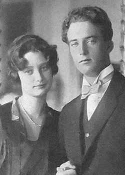 royaltywithella:  Crown Princess Astrid and Crown Prince (later King) Leopold of Belgium