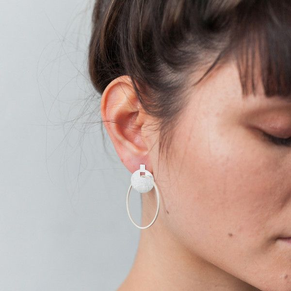 Around We Go Earrings. $120 available on the Artisan Online Store