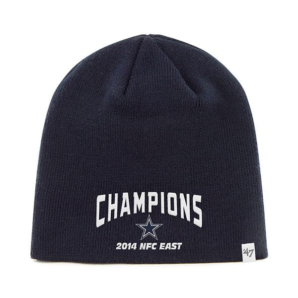 Dallas Cowboys 47 Brand 2014 NFC East Champions Navy Hat Cap Beanie