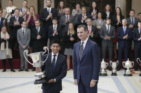 Nairo Quintana, mejor deportista iberoamericano