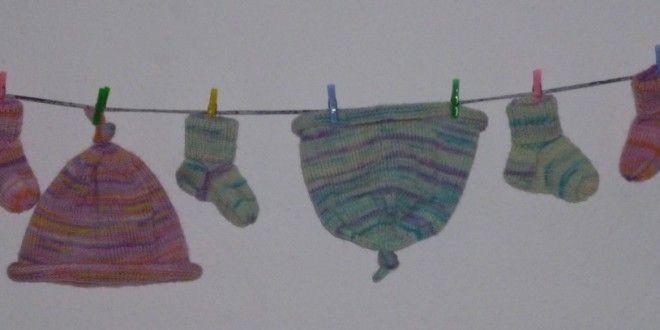 Strickanleitung: Socken und Mütze fürs Baby