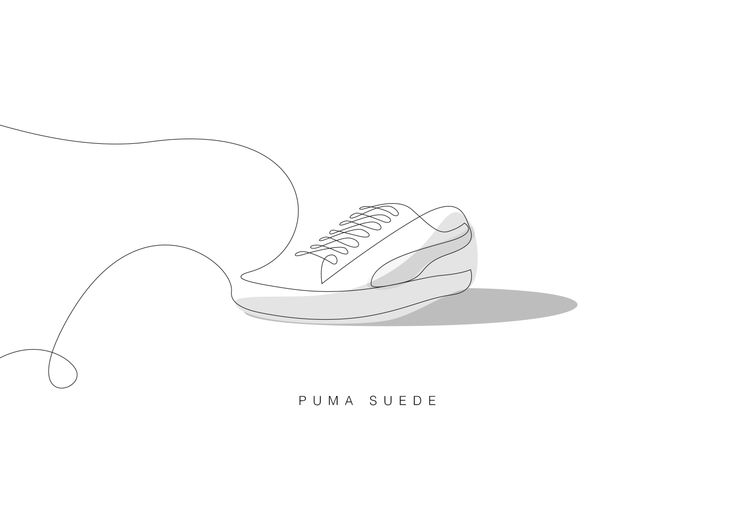 Line Art Shoes : Best differantly images minimalism art