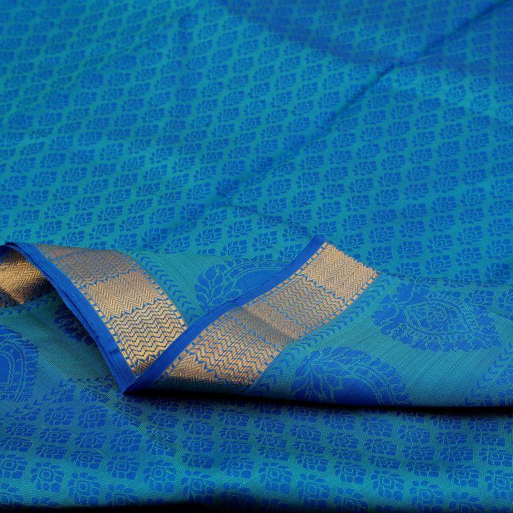 Sarangi Handwoven Kanjivaram Silk Saree - 100126389 from Sarangi * Feel Beautiful