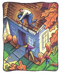 Your Home's Fall Checklist ... It's time to prepare your home to withstand winter's frosty bite.