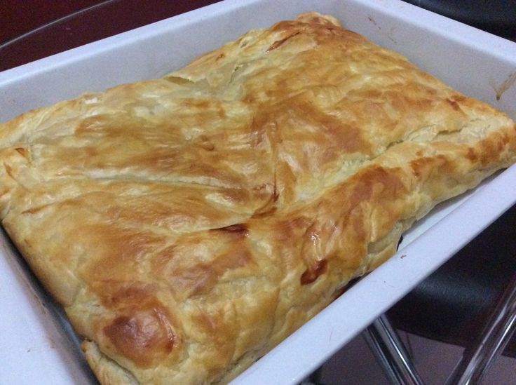Beef mayo pastry