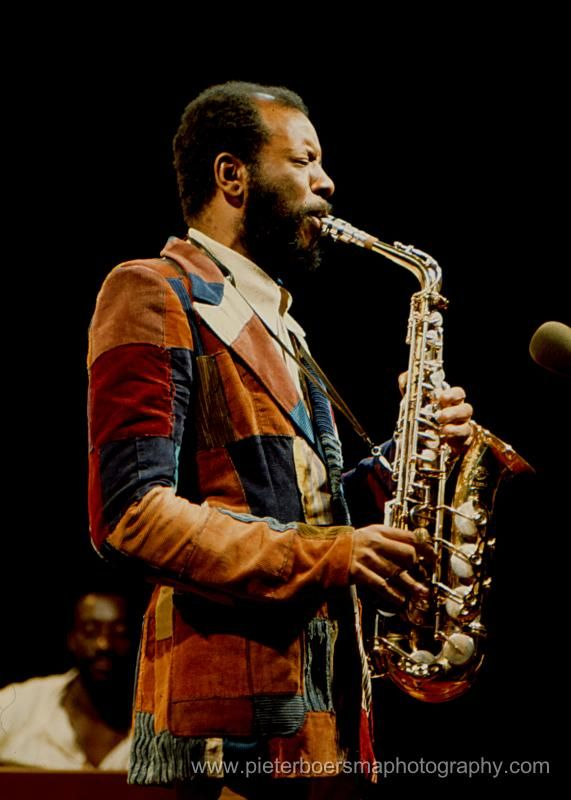Ornette Coleman, by Pieter Boersma