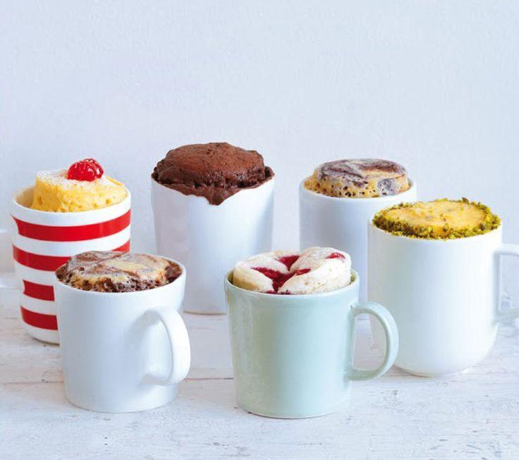 Кексы в кружке за 10 минут: 5 новомодных рецептов