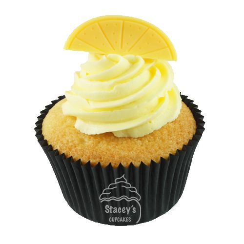 "4D Lemon Cupcake ""Lemon Lust"" by Stacey's Cupcakes www.staceyscupcakes.com.au"