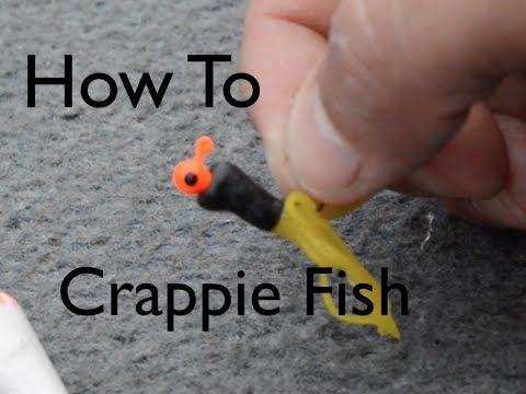 Crappie Fishing - How To Rig a TUBE! - YouTube                                                                                                                                                                                 More