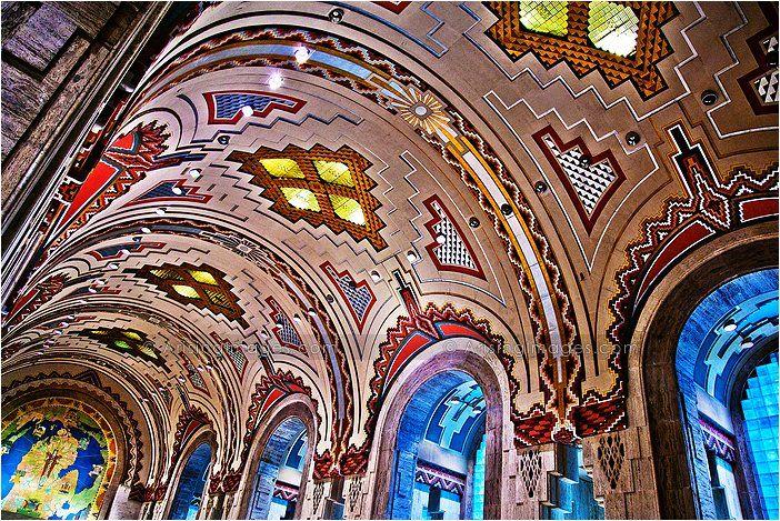 Guardian Building Detroit Spaces Art Nouveau Art