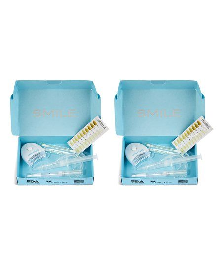 Smile Sciences Mint Teeth Whitening Kit – Set of Two | zulily