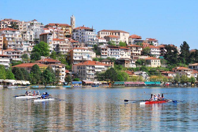 The Lakeside town of Kastoria in West Macedonia, Greece, photo appears on http://www.greece-travel-secrets.com/Kastoria.html