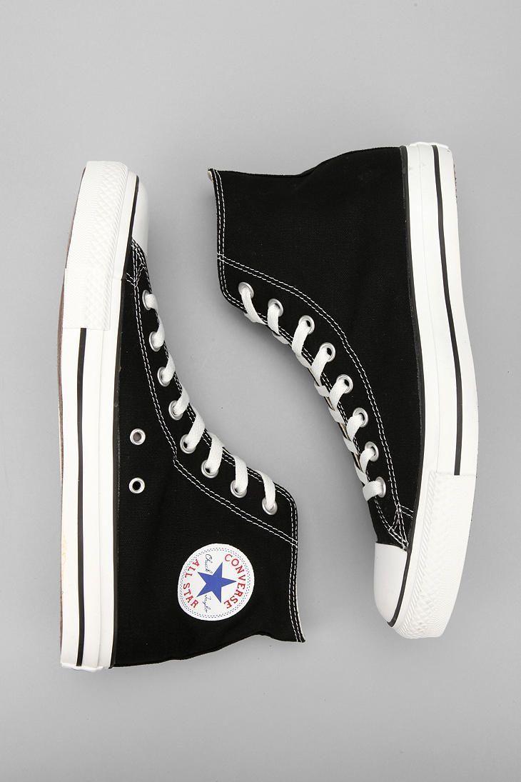 The black converse