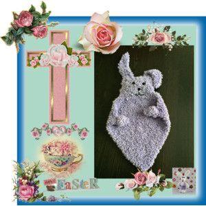 Happy Easter-Handmade Bunny