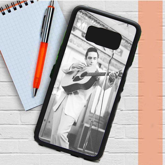 John R Johnny Cash 2 Samsung Galaxy S8 Plus Case Dewantary