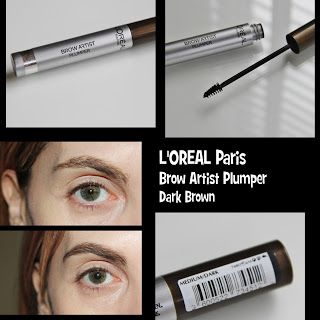 MichelaIsMyName: L'OREAL Paris Brow Artist Plumper Dark Brown REVIE...