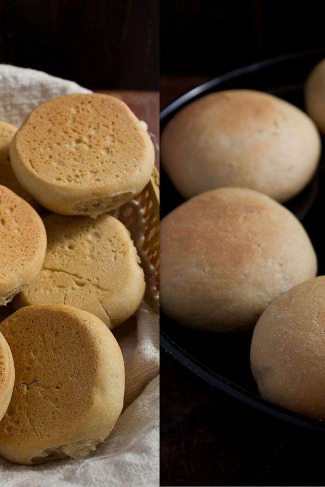 indian bread roll. pav