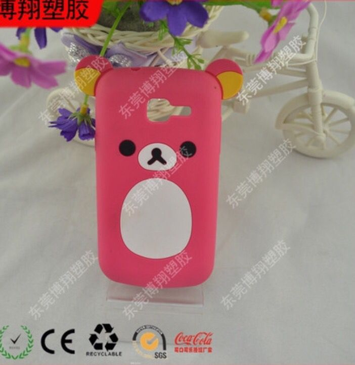 Soft PVC Cute Mobile Case. Price at: $1.00/piece.
