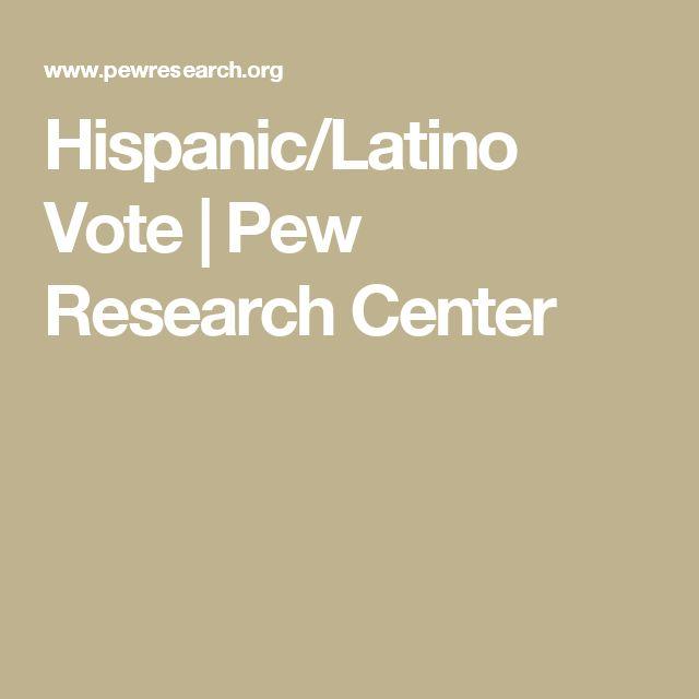 Hispanic/Latino Vote | Pew Research Center