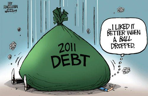 Funny Political Cartoons for Students | Cartoons for the Week of Dec. 26-Jan. 1, 2011