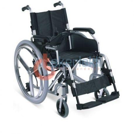 Wollex W107 Akülü Tekerlekli Sandalye katlanabilir özelliği ve konforlu kullanımı ile en çok tercih edilen modeller arasında yer almaktadır.   #wollexw107 #wollex #wollexmanultekerleklisandalye #manueltekerleklisandalye