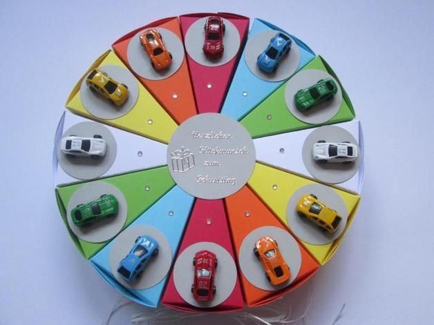 Autotorte zum Kindergeburtstag.