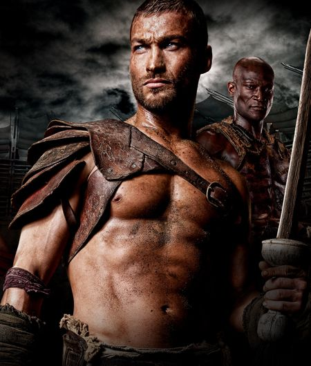 Andy Whitfield ~ The original Spartacus from Starz. RIP