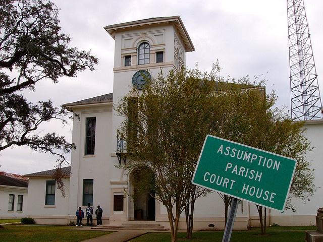 Assumption Parish Courthouse (Napoleonville, Louisiana)