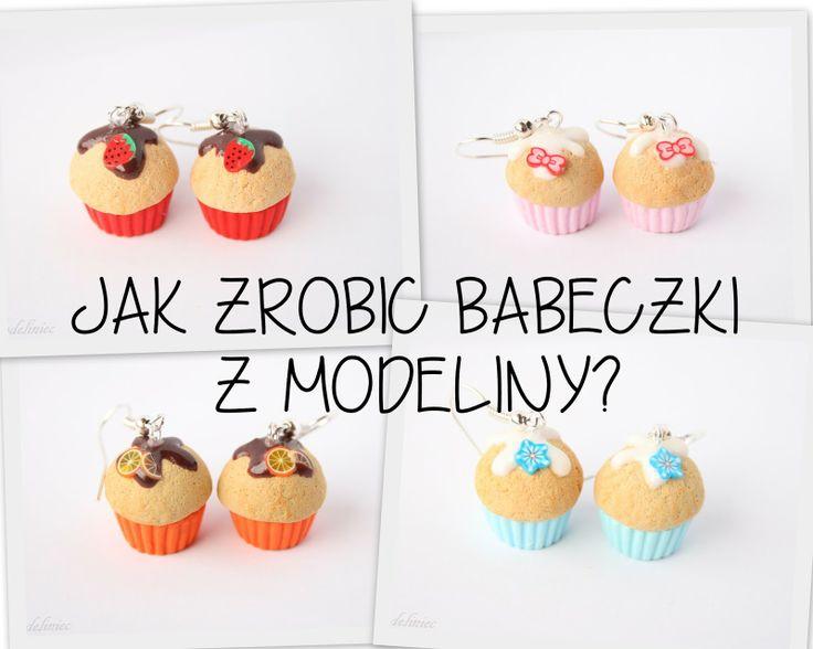 Jak zrobić babeczkę z modeliny?/ How to make polymer clay cupcakes?